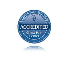 Society of Chest Pain Centers Chest Pain Accredited